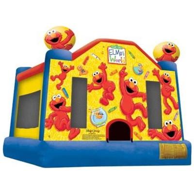 Elmo World Bounce House