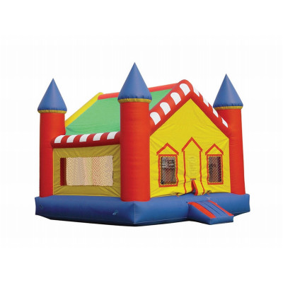 Bounce House With Basketball Hoop