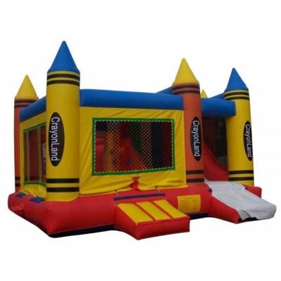 Inflatable Crayon Bouncer Combo
