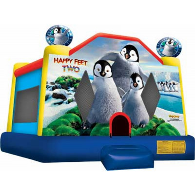 Inflatable Happy Feet Jump