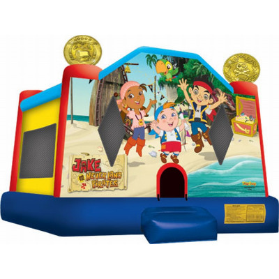 Inflatable Jake And The Never Land Pirates Jump