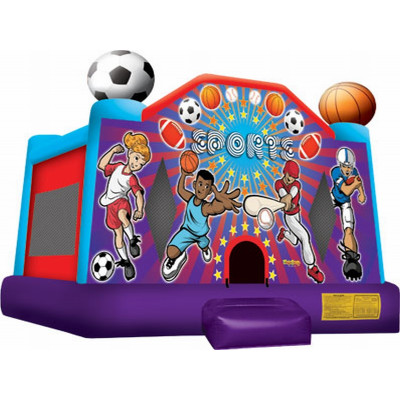 Inflatable Sports Usa Jump