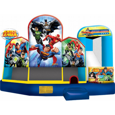 Inflatable Justice League 5 In 1 Combo