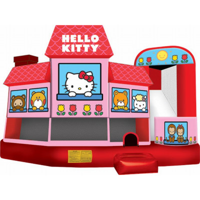 Inflatable Hello Kitty 5 In 1 Combo