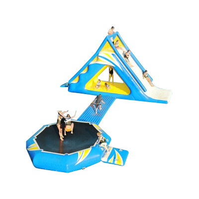 Water Camp Trampoline