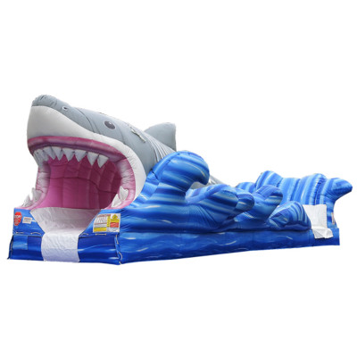 Inflatable Shark Slip N Slide