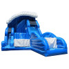 Shock Wave Inflatable Slide