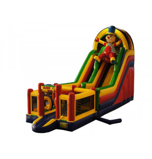 Inflatable Multiplay Clown Slide