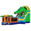 Inflatable Mutliplay Crocdile Slide