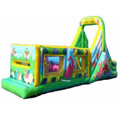 Inflatable Jungle Obstacle Course