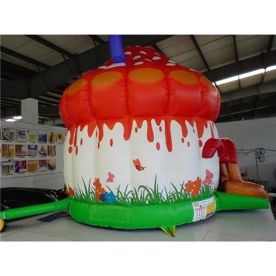 Inflatable Mushroom Castle