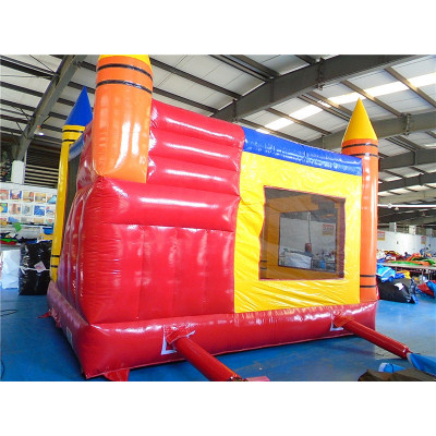 Inflatable Crayon Bouncer Combo