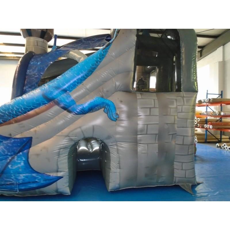 Dragon Inflatable Bouncy Slide