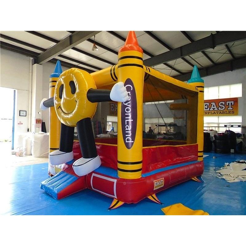 Crayon Bouncer House