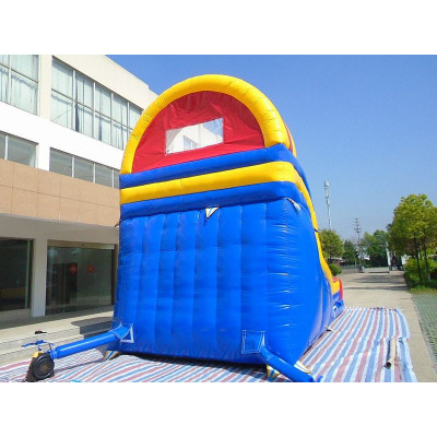Curve Inflatable Slide