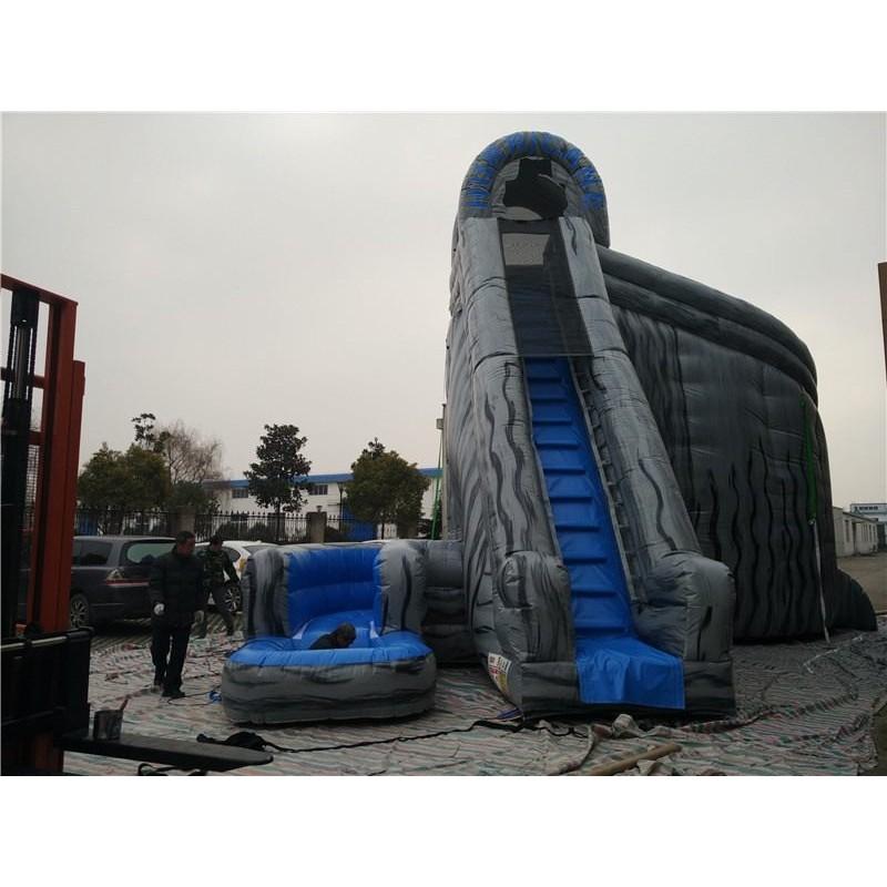Hurricane Slide With Pool