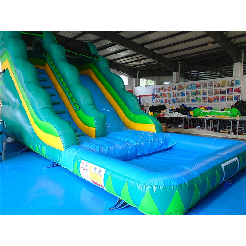 Foot Tropical Water Slide