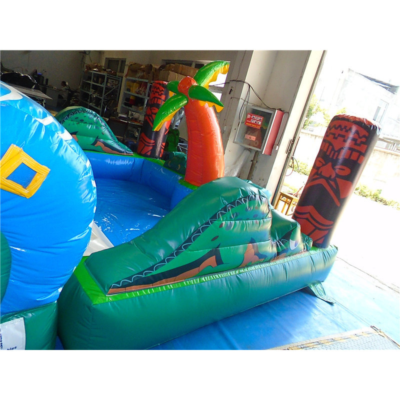20ft Inflatable Tiki Falls Slide