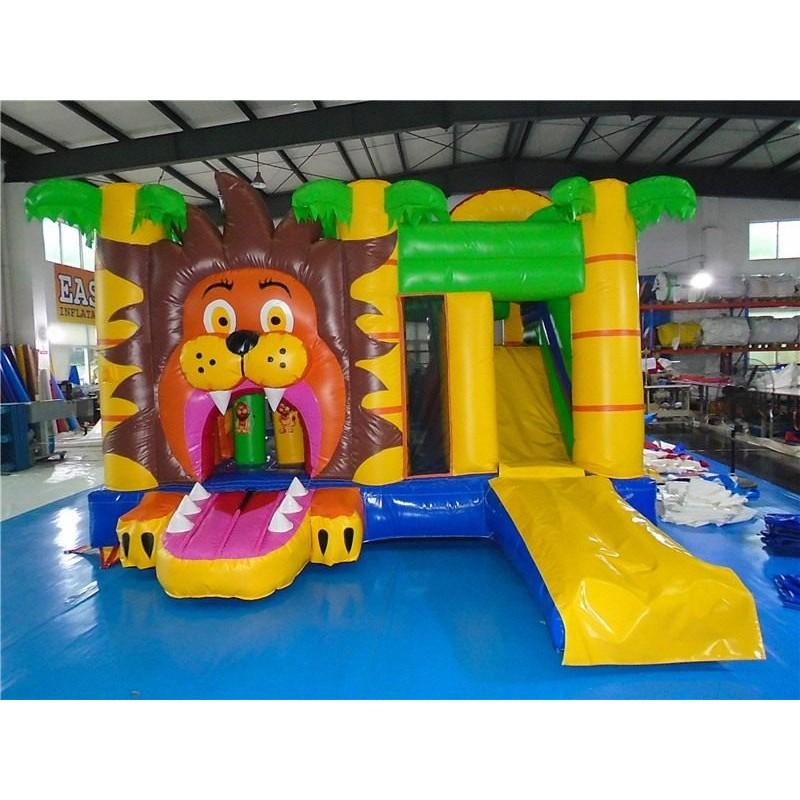 Bouncy Castle Lion