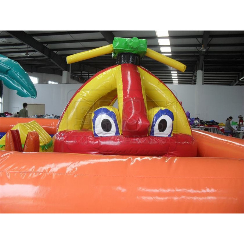 Inflatable Chopperville