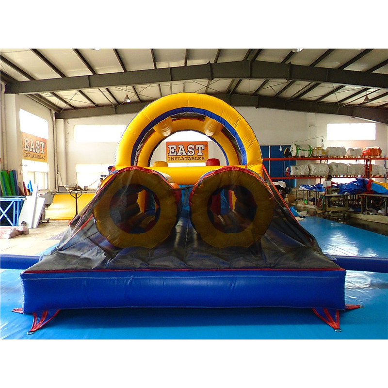 Inflatable Backyard Obstacle Challenge