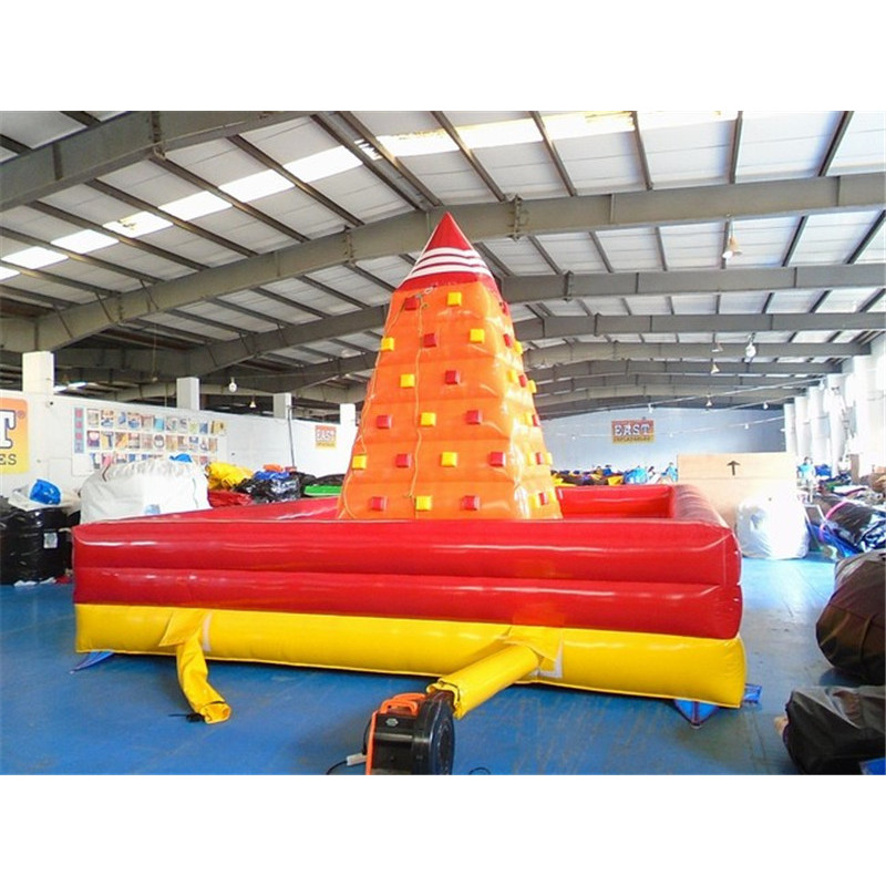Inflatable Climbing Wall Game