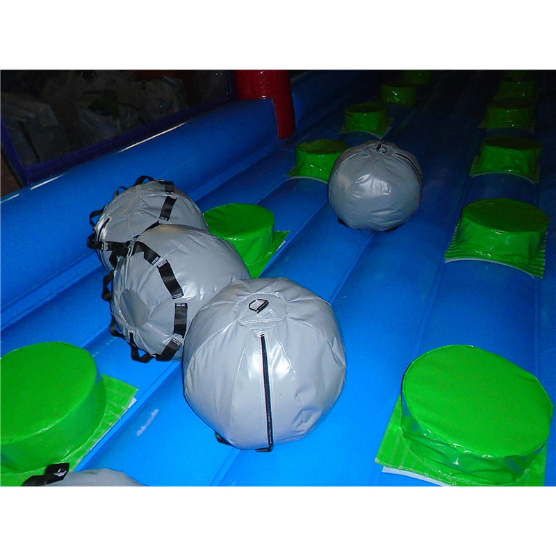 Inflatable Boulder Dash Game