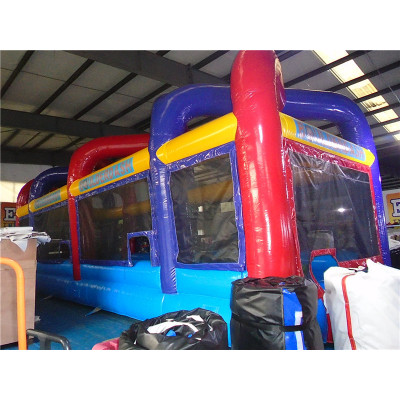 Inflatable Boulder Dash Game