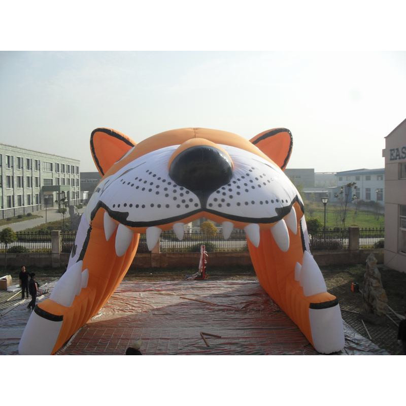 Inflatable Tiger Tunnel