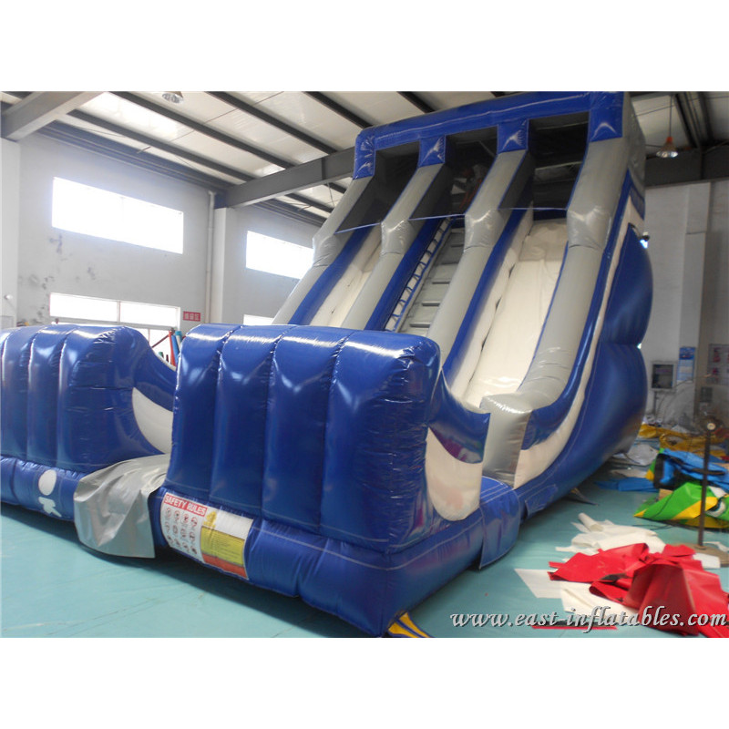 Inflatables Double Lane Slide
